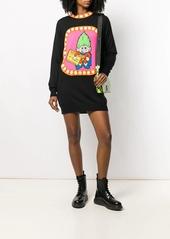 Moschino knitted jacquard troll dress