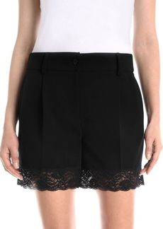 Moschino Lace-Trim Shorts