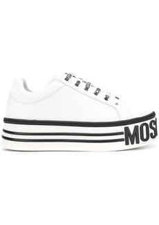Moschino lace-up platform sneakers