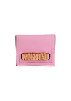 Moschino Leather Bi-Fold Wallet