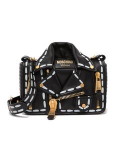 Moschino Leather Jacket Crossbody