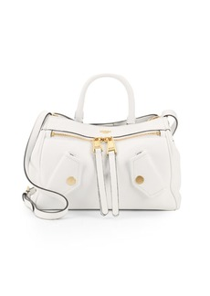 Moschino Leather Top Handle Bag