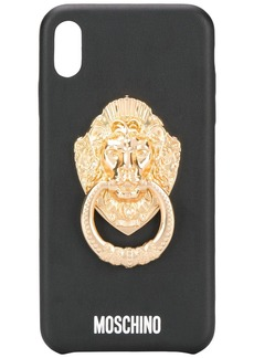 Moschino Lion Head iPhone XS Max case