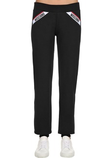 Moschino Logo Band Cotton Sweatpants
