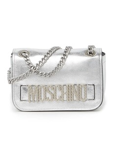 Moschino Logo Chain Strap Shoulder Bag