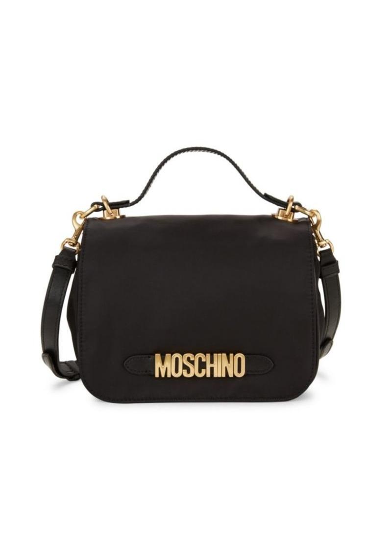Moschino Logo Convertible Belt & Crossbody Bag