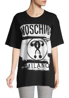 Moschino Logo Cotton Tee