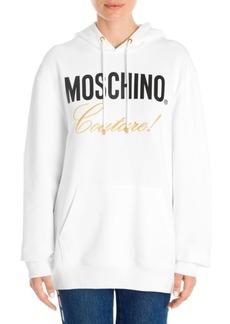Moschino Logo Couture Hoodie