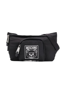 Moschino logo detail belt bag