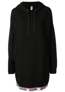Moschino logo detail hoodie dress