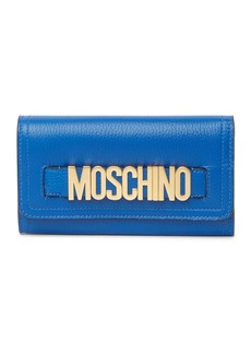 Moschino Logo Flap Wallet