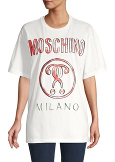 Moschino Logo Graphic Cotton Tee