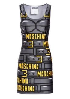 Moschino x Sims Pixel Capsule Lycra Dress
