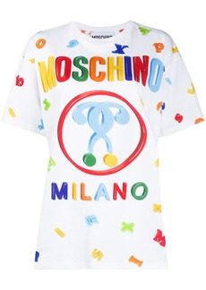 Moschino logo letter printed T-shirt