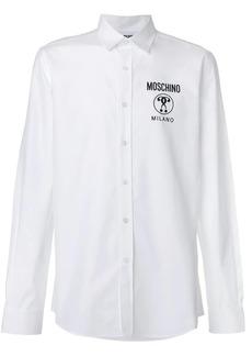 Moschino logo long-sleeved shirt