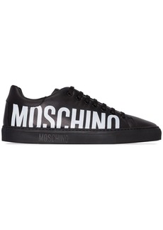 Moschino logo low top sneakers