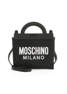 Moschino Logo Net Shopping Bag