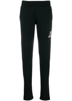 Moschino logo patch jogging trousers