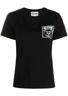 Moschino logo patch t-shirt