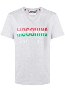 Moschino logo patch T-shirt