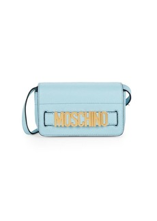 Moschino Logo Plaque Crossbody Bag