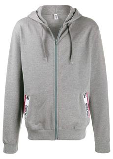Moschino logo pocket hoodie