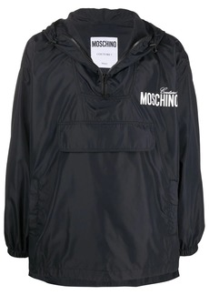Moschino logo print lightweight jacket
