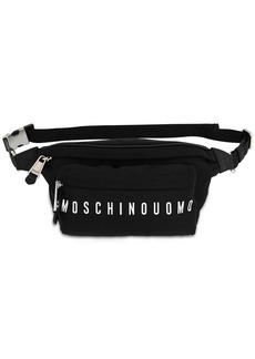 Moschino Logo Print Nylon Belt Bag