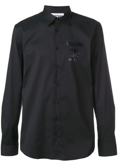 Moschino logo print shirt