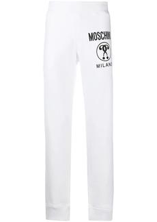 Moschino logo-print track pants
