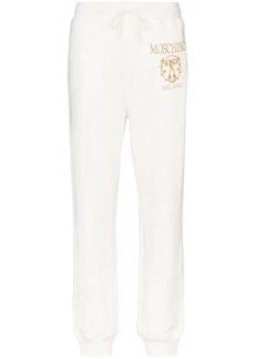 Moschino logo print track trousers