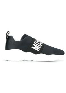 Moschino logo strap sneakers