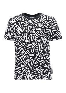 Moschino Logo Stretch Cotton Jersey T-shirt