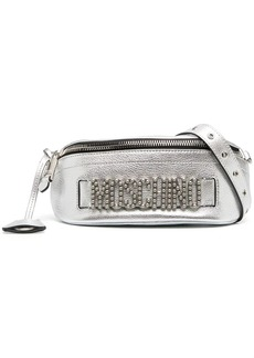 Moschino logo-studded belt bag