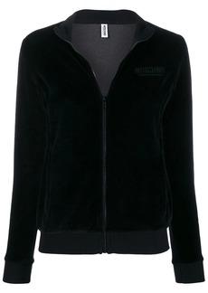 Moschino logo track jacket