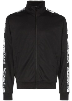Moschino logo-trimmed track jacket