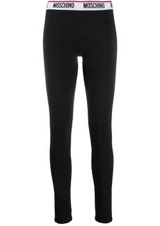 Moschino logo waistband leggings