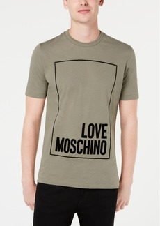 Love Moschino Men's Logo Graphic T-Shirt