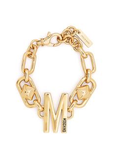 Moschino M-charm chain bracelet