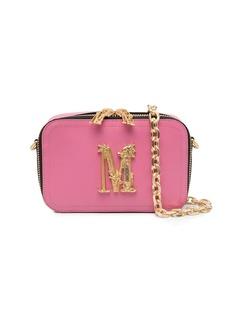 Moschino M plaque belt bag