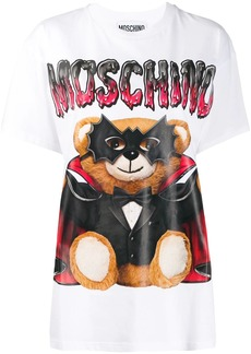 Moschino Mask Teddy Bear print T-shirt
