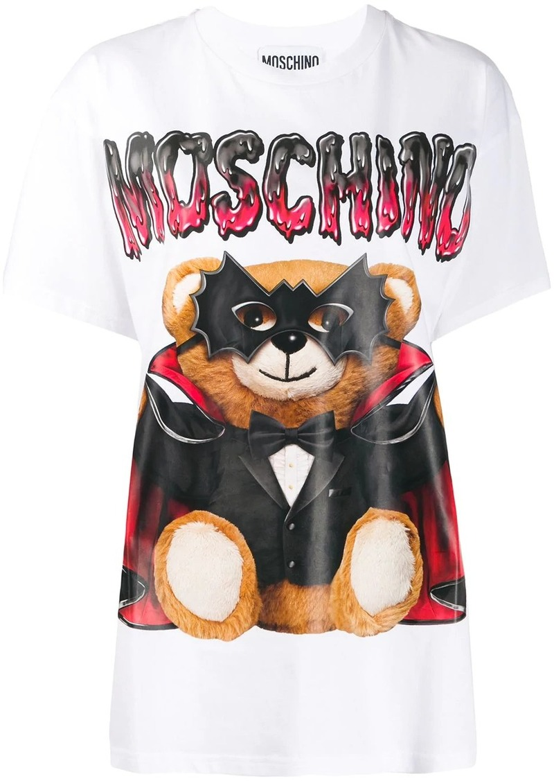 Moschino Mask Teddy Bear print T-shirt