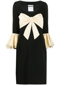 Moschino maxi bow detail dress