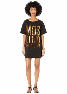 Moschino Maxi T-Shirt Cover-Up