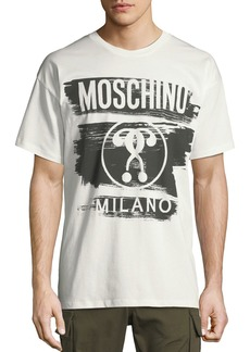 Moschino Men's Short-Sleeve Logo Graphic T-Shirt