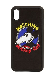 Moschino Mickey Printed Iphone X Cover