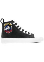 Moschino Mickey Rat hi-top sneakers