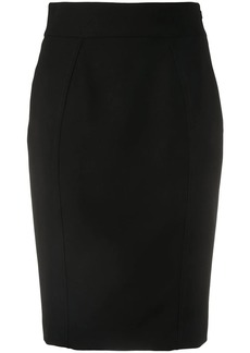 Moschino midi pencil skirt