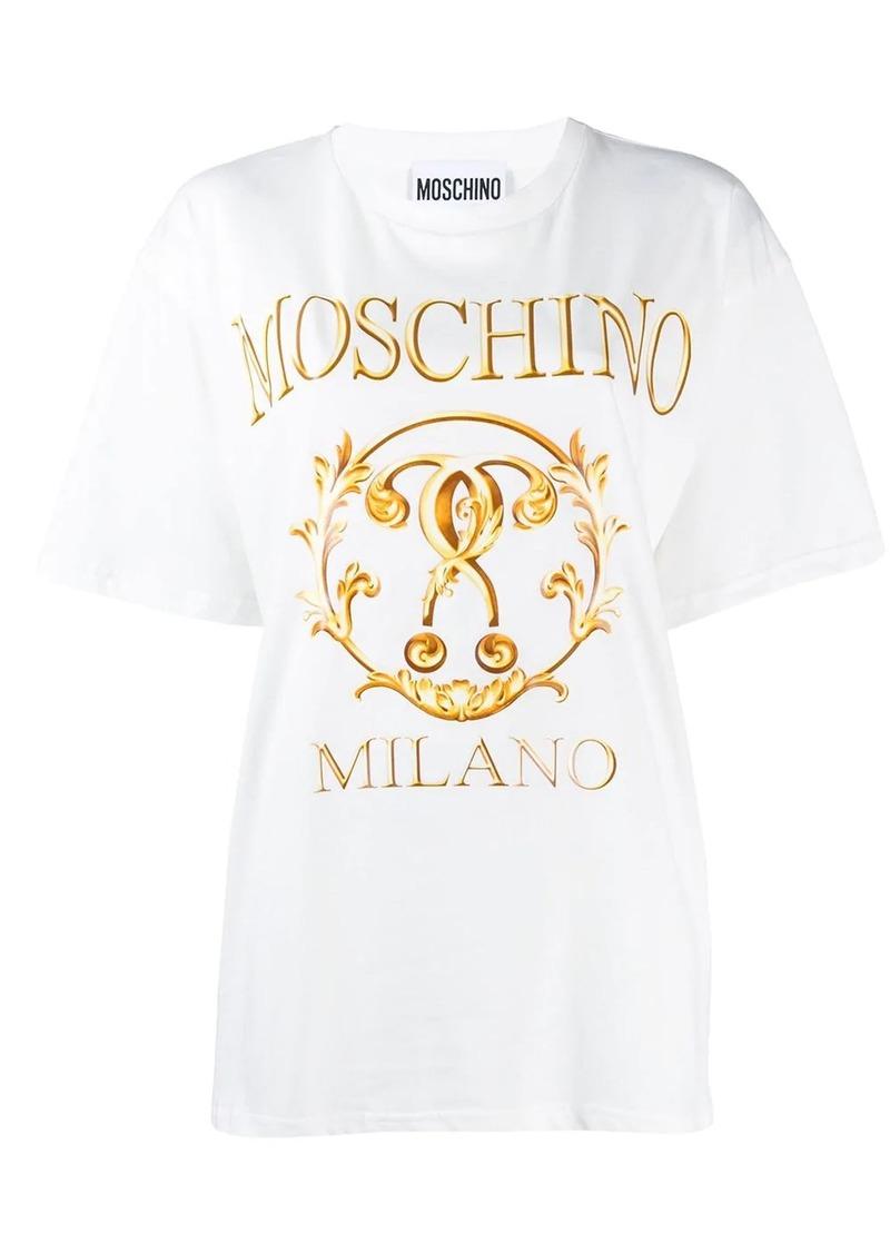 Moschino Milano logo T-shirt