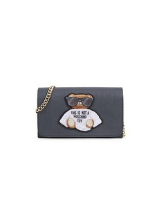Moschino Mini Leather Shoulder Bag